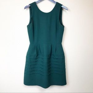 Madewell Green Midnight Fit Flare Dress